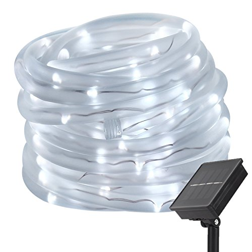 best rated solar powered rope lights 2018 top 9 reviews